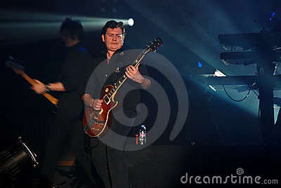 Simple Minds in Concert Editorial Stock Image