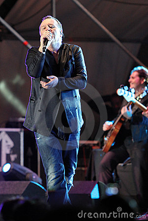 Simple Minds, live concert Editorial Photography
