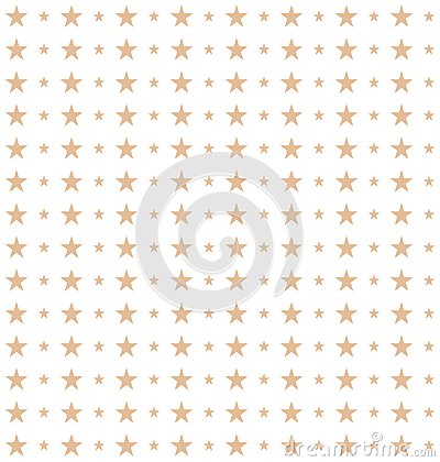 Seamless pattern of stars made in vector Stock Photo