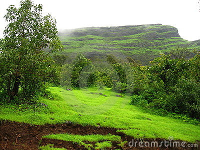 Simple Mountain Landscape