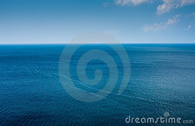 Simple ocean horizon
