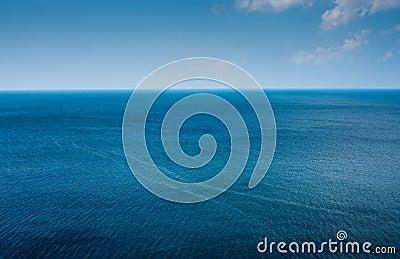 Simple ocean horizon