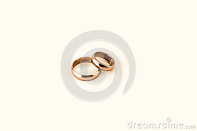 set of old basic golden rings just like frodos ring - Old Wedding Rings