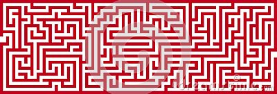 Simple Maze Cutout