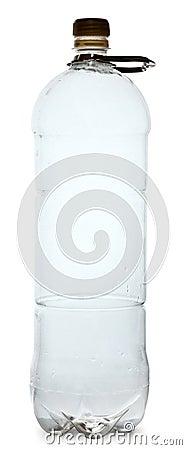 Simple plastic bottle