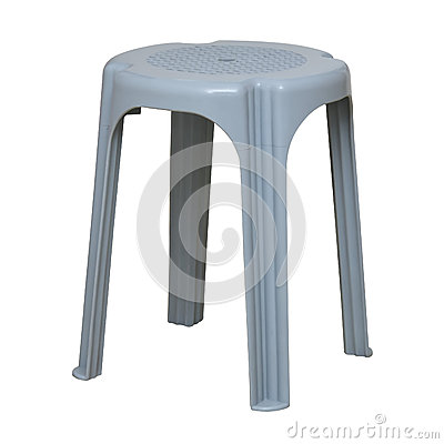 Simple plastic stool