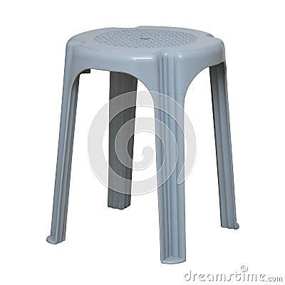 Simple plastic stool