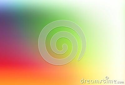 Simple rainbow template