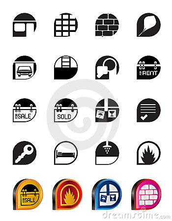 Simple Real Estate icons