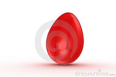 Simple red egg