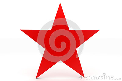 Simple Red Star