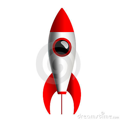 Free Simple Rocket Royalty Free Stock Images - 7519769