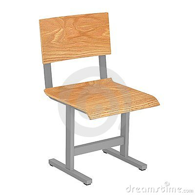 Simple school chair