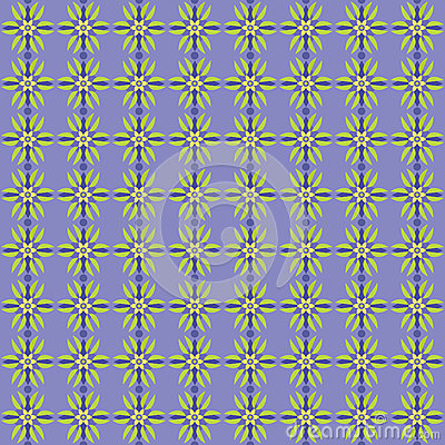 Simple Seamless Flower Pattern