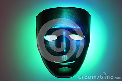 Simple smiling mask
