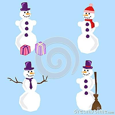 Simple snowman