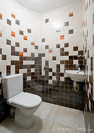 Simple toilet room