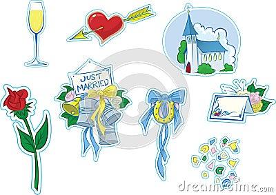Simple Wedding Icons #2