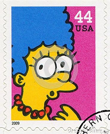 Simpsons Editorial Stock Photo