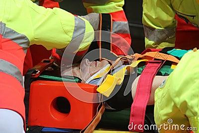 Simulation of traffic accident