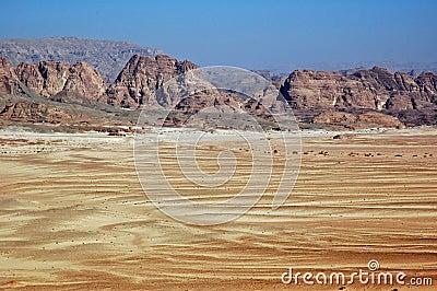 Sinai Desert.