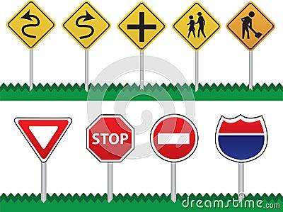 Sinais de estrada
