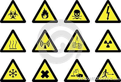 Sinais de perigo no laboratório