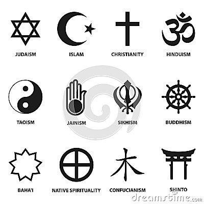 Sinal E S 237 Mbolos Religiosos Ilustra 231 227 O Do Vetor Imagem