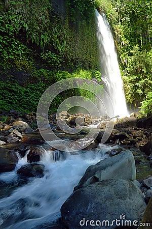 Sindang Gila Lombok Waterfall