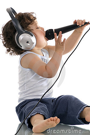 Free Sing Baby. Stock Photography - 3946222