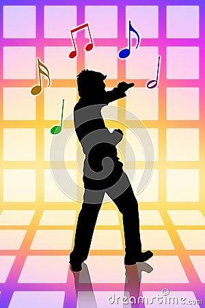 Sing loud at karaoke party