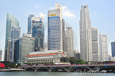 Singapore Editorial Photo
