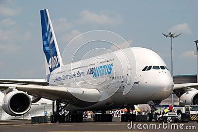 Singapore Airshow 2008 Editorial Stock Image