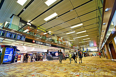 Singapore Changi Airport Editorial Photography