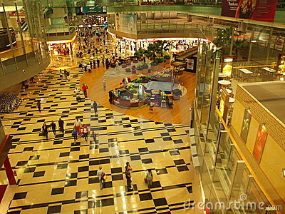 Singapore Changi Airport Shopping Editorial Stock Photo