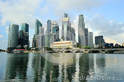 Singapore City Editorial Photo