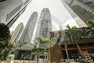 Singapore cityscape at daytime