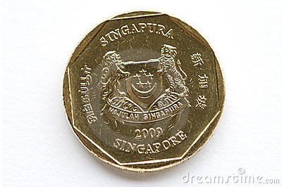 Singapore Coin Picture on Singapore Coin  Click Image To Zoom
