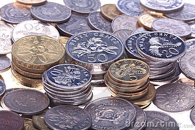 Singapore Coin Picture on Singapore Coins