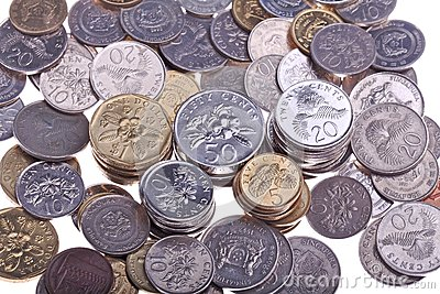 Singapore Coin Picture on Royalty Free Stock Images  Singapore Coins  Image  14704869
