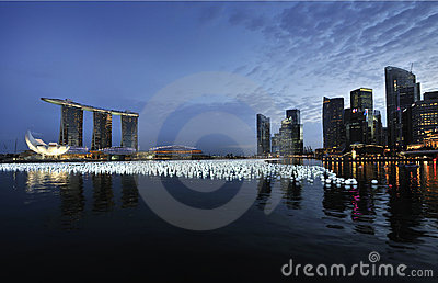 Singapore Countdown 2010/2011 Editorial Image