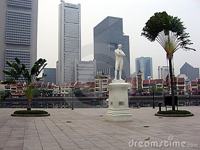 Singapore. Creator and his creature