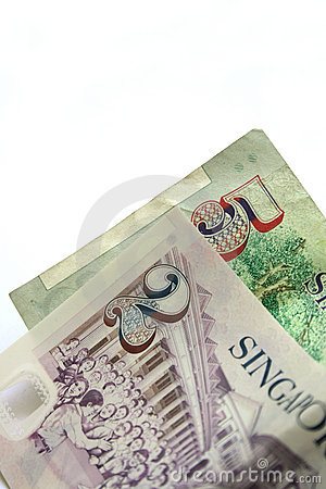 Singapore currency notes