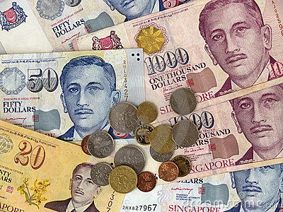 Singapore Currency Notes & Coins
