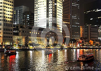 Singapore embankment