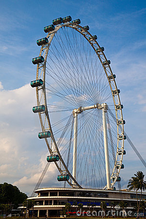 Free Singapore Flyer Royalty Free Stock Photography - 14460687