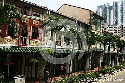 Singapore houses Editorial Image