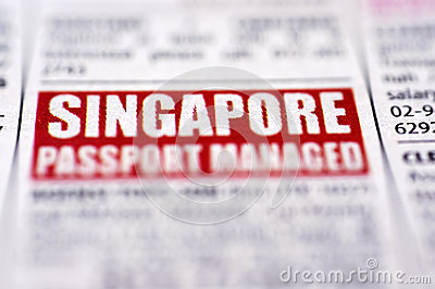 Singapore Job Vacancy