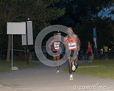 Singapore Marathon 2008 Editorial Stock Photo