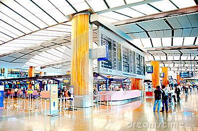 Changi Airport Editorial Stock Photo